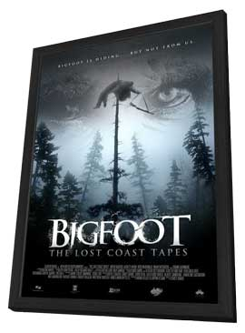 Big Foot: The Lost Coast Tapes - 27 x 40 Movie Poster - Style A - in Deluxe Wood Frame