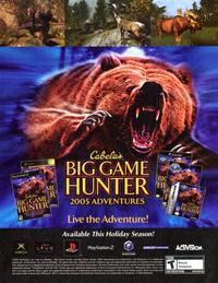 Big Game Hunter - 11 x 17 Video Game Poster - Style A