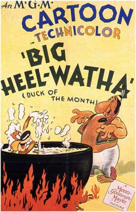 Big Heel-Watha - 11 x 17 Movie Poster - Style A