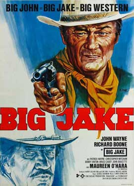 Big Jake - 11 x 17 Movie Poster - German Style A