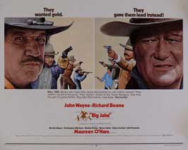 Big Jake - 11 x 17 Movie Poster - Style E