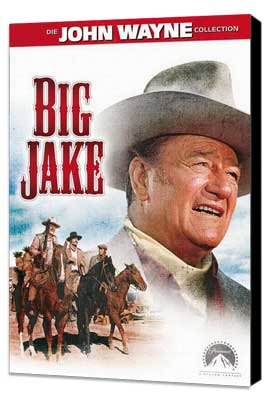 Big Jake - 27 x 40 Movie Poster - Style C - Museum Wrapped Canvas