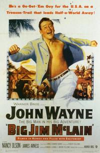 Big Jim McLain - 11 x 17 Movie Poster - Style B