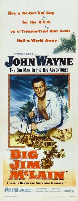 Big Jim McLain - 14 x 36 Movie Poster - Insert Style A