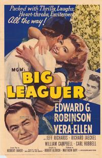Big Leaguer - 43 x 62 Movie Poster - Bus Shelter Style A