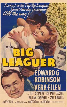 Big Leaguer - 11 x 17 Movie Poster - Style A