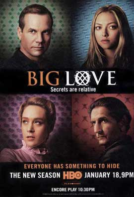 Big Love (TV) - 27 x 40 TV Poster - Style F
