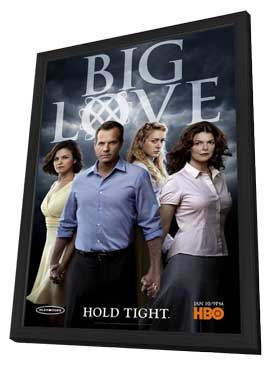 Big Love (TV) - 11 x 17 TV Poster - Style O - in Deluxe Wood Frame