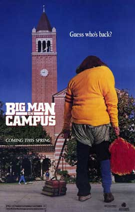Big Man on Campus - 11 x 17 Movie Poster - Style A