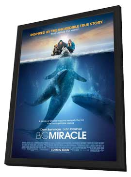 Big Miracle - 27 x 40 Movie Poster - Style A - in Deluxe Wood Frame