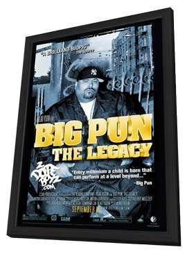 Big Pun: The Legacy - 27 x 40 Movie Poster - Style A - in Deluxe Wood Frame