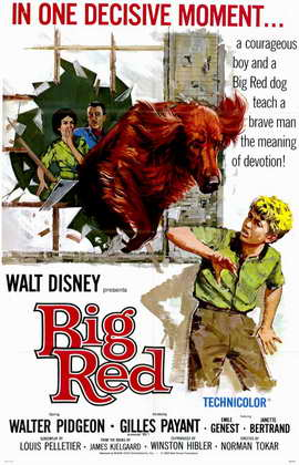 Big Red - 11 x 17 Movie Poster - Style A