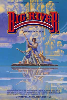 Big River (Broadway) - 27 x 40 Movie Poster - Style A