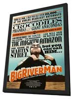 Big River Man - 11 x 17 Movie Poster - Style A - in Deluxe Wood Frame
