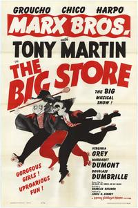 Big Store - 43 x 62 Movie Poster - Bus Shelter Style A