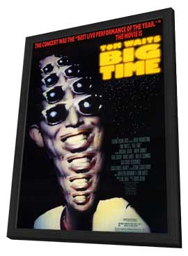Big Time - 11 x 17 Movie Poster - Style A - in Deluxe Wood Frame
