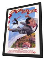 Big Top Pee-wee - 11 x 17 Movie Poster - Style A - in Deluxe Wood Frame