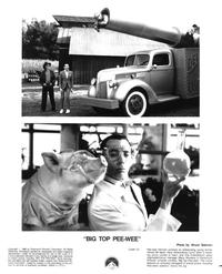 Big Top Pee-wee - 8 x 10 B&W Photo #5