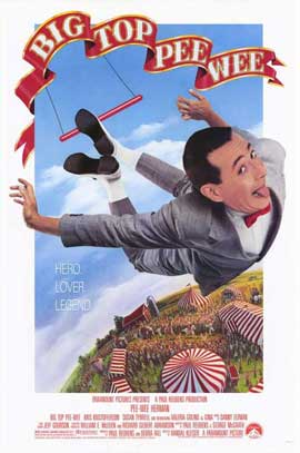 Big Top Pee-wee - 27 x 40 Movie Poster - Style A