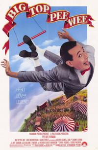Big Top Pee-wee - 11 x 17 Movie Poster - Style A - Museum Wrapped Canvas