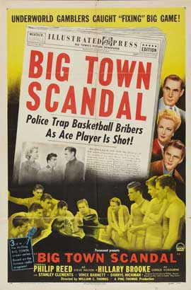 Big Town Scandal - 11 x 17 Movie Poster - Style A