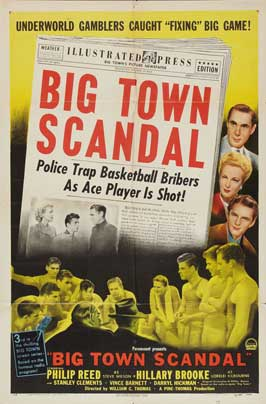 Big Town Scandal - 27 x 40 Movie Poster - Style A