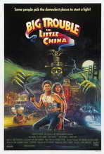 Big Trouble in Little China - 27 x 40 Movie Poster - Style C