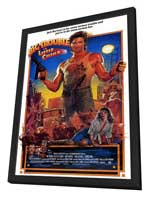 Big Trouble in Little China - 27 x 40 Movie Poster - Style A - in Deluxe Wood Frame