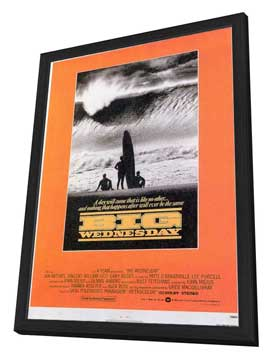 Big Wednesday - 11 x 17 Movie Poster - Style A - in Deluxe Wood Frame