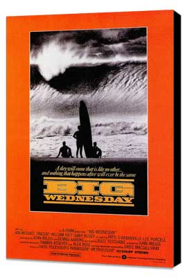 Big Wednesday - 27 x 40 Movie Poster - Style A - Museum Wrapped Canvas