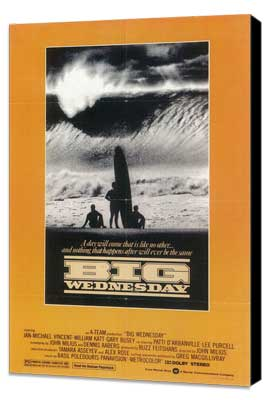 Big Wednesday - 27 x 40 Movie Poster - Style C - Museum Wrapped Canvas