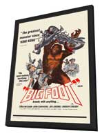 Bigfoot - 27 x 40 Movie Poster - Style A - in Deluxe Wood Frame