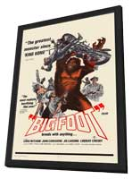 Bigfoot - 11 x 17 Movie Poster - Style A - in Deluxe Wood Frame