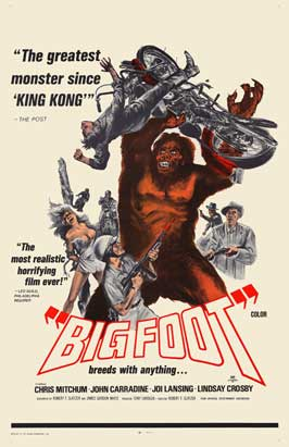 Bigfoot - 11 x 17 Movie Poster - Style A