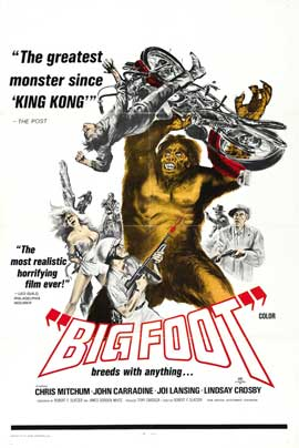 Bigfoot - 11 x 17 Movie Poster - Style B