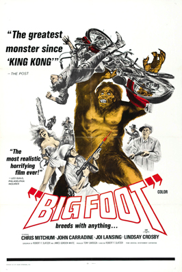 Bigfoot - 27 x 40 Movie Poster - Style B