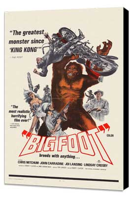 Bigfoot - 27 x 40 Movie Poster - Style A - Museum Wrapped Canvas
