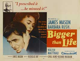Bigger than Life - 30 x 40 Movie Poster UK - Style A