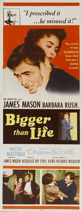 Bigger than Life - 14 x 36 Movie Poster - Insert Style A