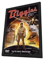 Biggles:  Adventure in Time - 11 x 17 Movie Poster - Style B - in Deluxe Wood Frame