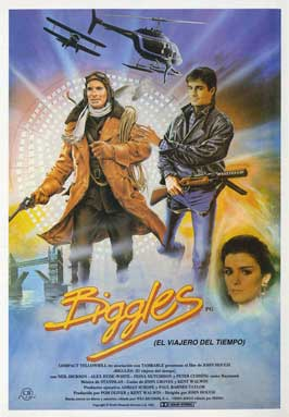 Biggles:  Adventure in Time - 27 x 40 Movie Poster - Spanish Style A