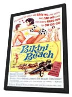 Bikini Beach - 11 x 17 Movie Poster - Style A - in Deluxe Wood Frame