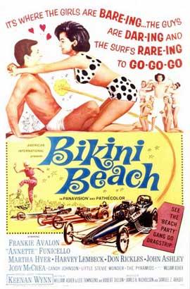 Bikini Beach - 11 x 17 Movie Poster - Style A