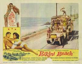 Bikini Beach - 11 x 14 Movie Poster - Style B