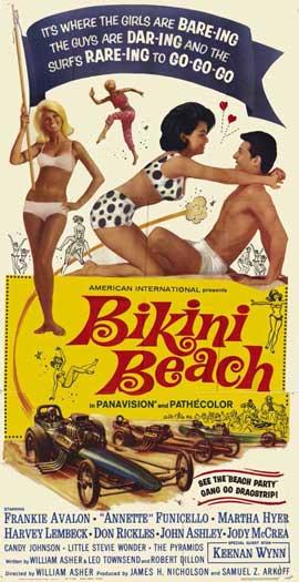 Bikini Beach - 11 x 17 Movie Poster - Style B