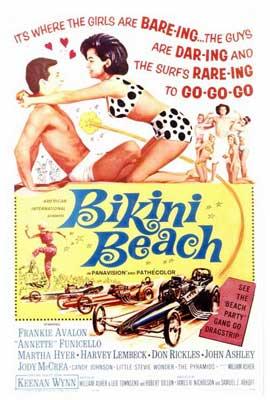 Bikini Beach - 27 x 40 Movie Poster - Style A
