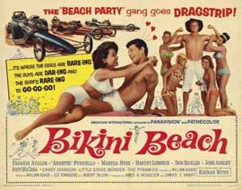 Bikini Beach - 22 x 28 Movie Poster - Half Sheet Style A