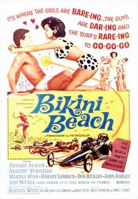 Bikini Beach - 43 x 62 Movie Poster - Bus Shelter Style A