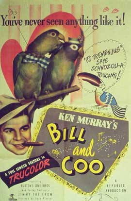 Bill and Coo - 27 x 40 Movie Poster - Style A