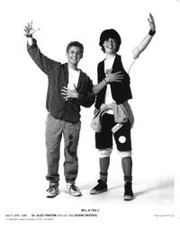 Bill & Ted's Bogus Journey - 8 x 10 B&W Photo #1